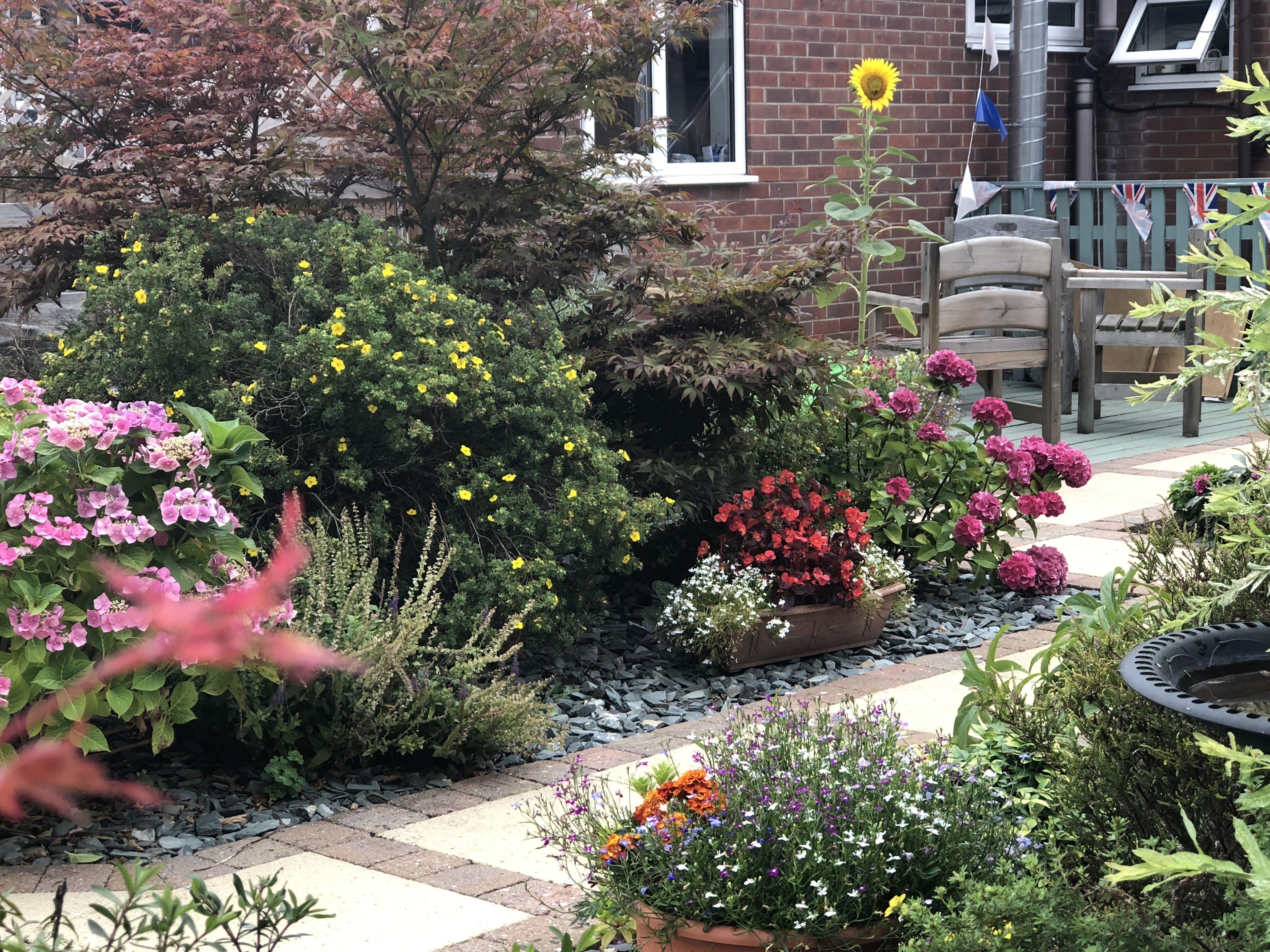 Private garden - Strensall Day Care Centre, York